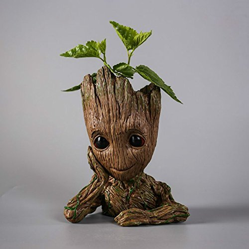 Fashion Guardians of The Galaxy Flowerpot Baby Groot Action Figures Cute Model Toy Pen Pot Best Christmas Gifts For Kids Photo #4