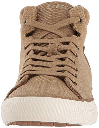 Lugz Mens Roi Fashion Sneaker Doré / Blanc / Gomme