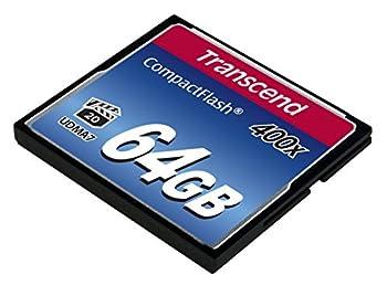 Transcend 64gb Compact Flash Memory Card 400x (Ts64gcf400) 2