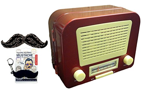Unique Quirky Novelty Vintage Radio with Secret Hidden Compartment Men Women Unique Perfect Gift for Dad from Daughter College Graduation Father Day Gift Idea Him Her Parent Newlywed Married (Sexy Scottish Ladies)
