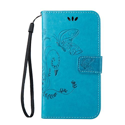 samsung s3 mini case retro blue - 7