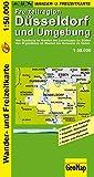 Freizeitregion Düsseldorf und Umgebung 1 : 50 000. Rad- und Freizeitkarte (Geo Map)