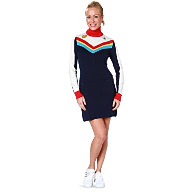 adidas Damen Kleid Blau Marine: : Bekleidung