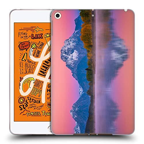 (Official Darren White Teton Awakening Reflection Soft Gel Case Compatible for iPad Mini (2019))
