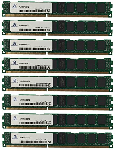 (Adamanta 128GB (8x16GB) Server RAM Upgrade for IBM BladeCenter HS23 7875 DDR3 1333Mhz PC3-10600 ECC Registered VLP 2Rx4 CL9 1.35v)