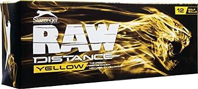 2014 Slazenger Raw Distance Yellow (12 Pack)