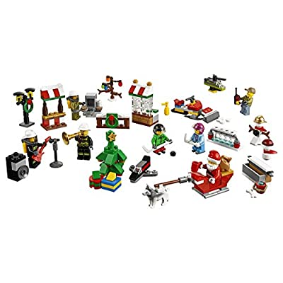 LEGO City Town 60133 Advent Calendar Building Kit (290 Piece) (Discontinued by Manufacturer): Toys & Games