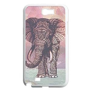 Elephant Unique Design Cover Case for Samsung Galaxy Note 2 N7100,custom case cover ygtg524909 WANGJING JINDA
