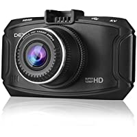 Dexors X7 2.7-Inch 2K Ultra FHD 1296P 2560x1080 Car DVR Dashboard Vehicle Camera with 16GB Card, GPS, G-Sensor ,Loop Recording ,WDR, Night Vision, Ambarella A7 Chip