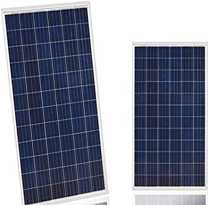 Amazon Com Sunket 320watt Solar Panels Solar Modules 72 Photovoltaic Cells 3 Bypass Diodes With Solar Cable Mc Connectors Pack Of 5 Garden Outdoor