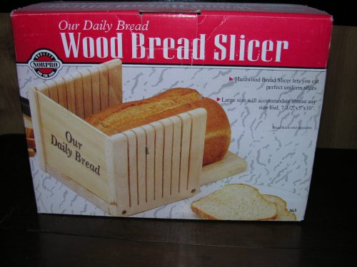Norpro Our Daily Bread Slicing Guide