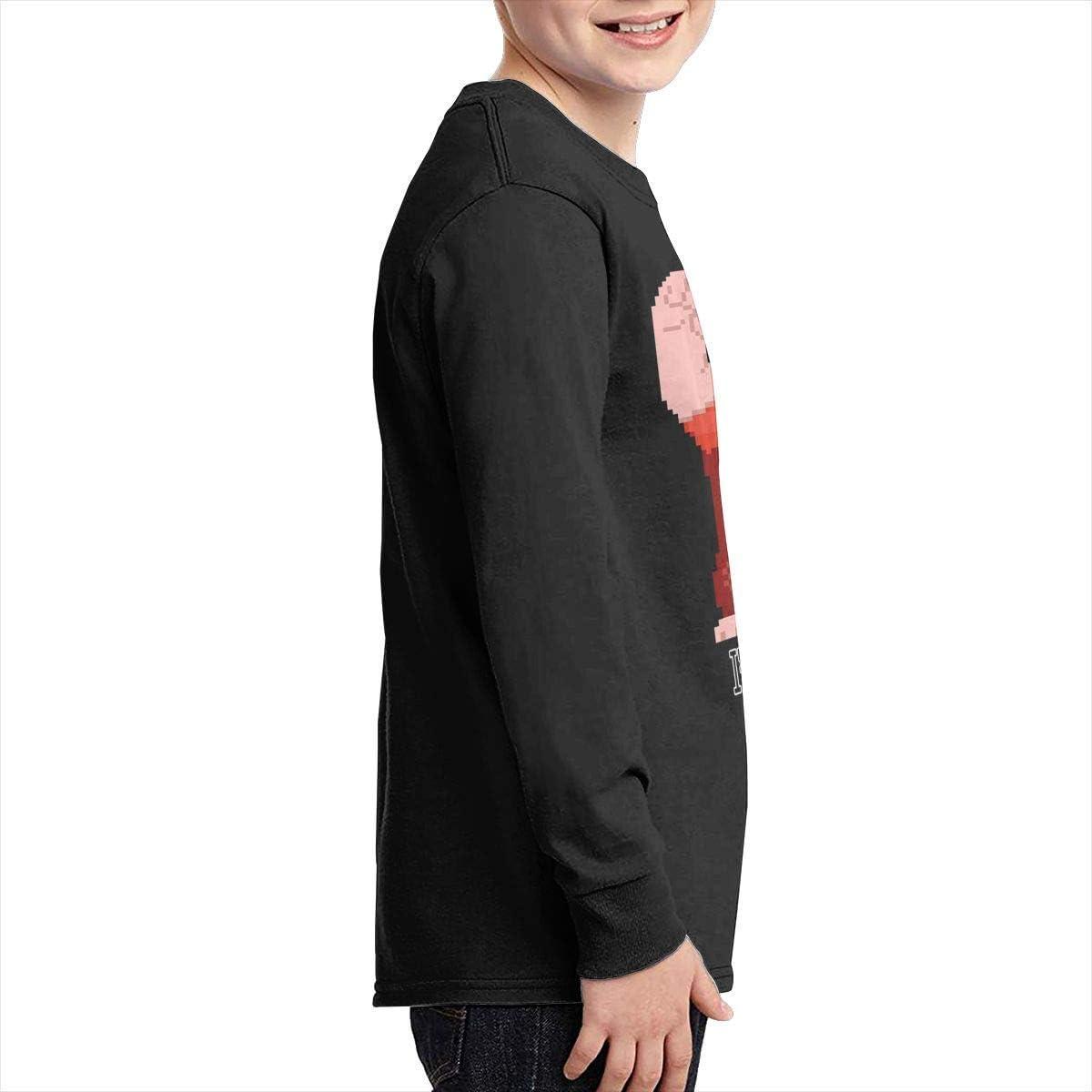 Kilsd Boys /& Girls Junior Classic Wreck It Ralph Long Sleeve T Shirt Black
