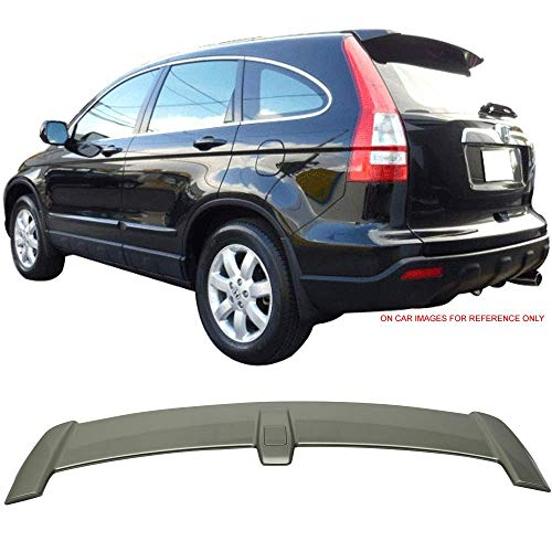 Pre-painted Trunk Spoiler Fits 2007-2011 Honda CR-V   Factory Style ABS Painted #G526M Green Tea Metallic Trunk Boot Lip Wing Deck Lid Other Color Available By IKON MOTORSPORTS   2008 2009 2010