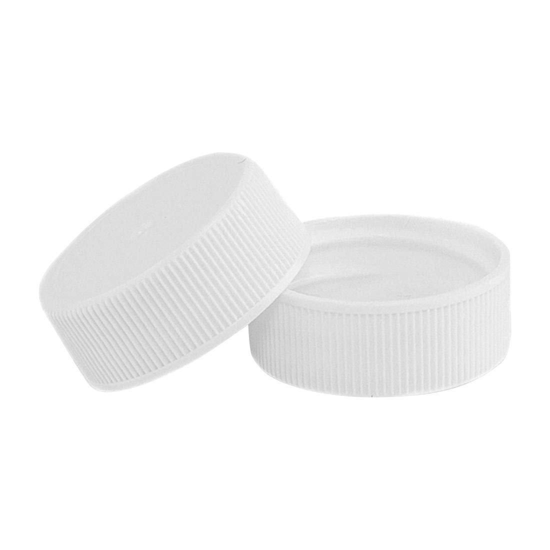 North Mountain Supply 28mm Silver Metal Screw Caps with Plastisol Liner Pack of 15 Leak Proof Lids