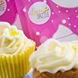 Sugar and Crumbs Lemon Drizzle Natural Flavoured Icing Sugar for Cakes, Buttercream and Other Baking - 500g by Sugar and Crumbs
