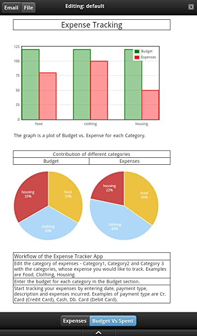 amazon com expense tracker kindle tablet edition appstore for