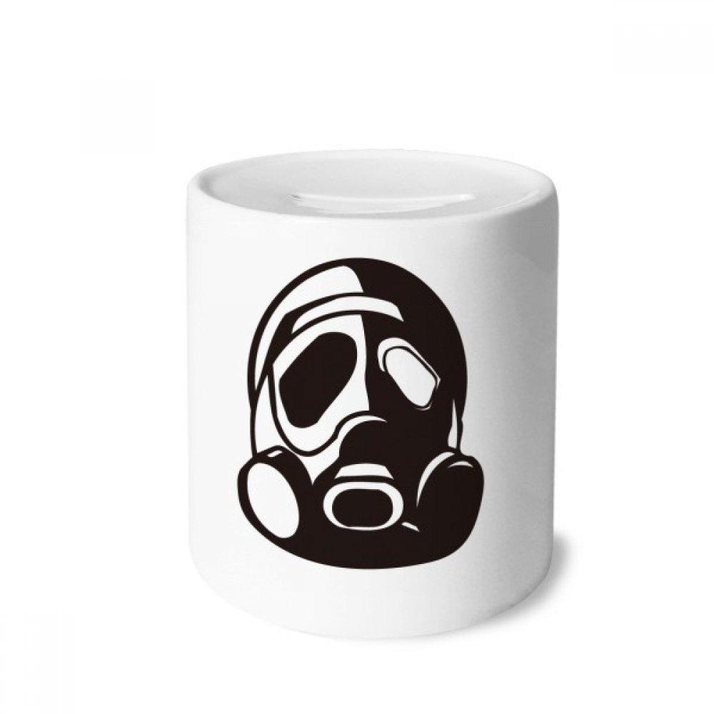 DIYthinker Counter Strike Contaminación Máscara de Gas Caja de Dinero de Las Cajas de ahorros de cerámica Adultos Moneda de la Caja para niños: Amazon.es: ...