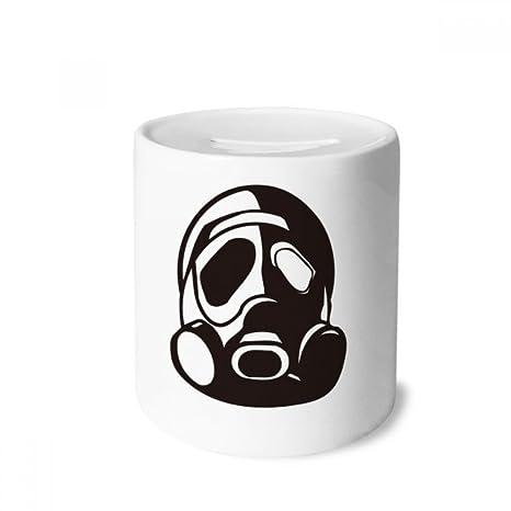 DIYthinker Counter Strike Contaminación Máscara de Gas Caja de Dinero de Las Cajas de ahorros de