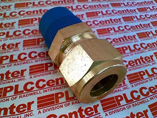 SWAGELOK B-14M0-1-8 14 MM Tube OD X 1//2 in Male NPT Male Connector