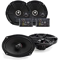 MB Quart Z Series 6.5 Inch Component Set 6x9 Coaxial bundle