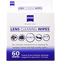 Zeiss Pre-Moistened Lens Cleaning Wipes - Cleans Bacteria, Germs and without Streaks for Eyeglasses and Sunglasses - (720 Count)