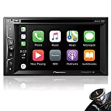 "Pioneer 2019 Model Player AVH-1500NEX Multimedia DVD Receiver with 6.2"" WVGA Display with Apple CarPlay, Bluetooth, and SiriusXM-Ready + Magnet"