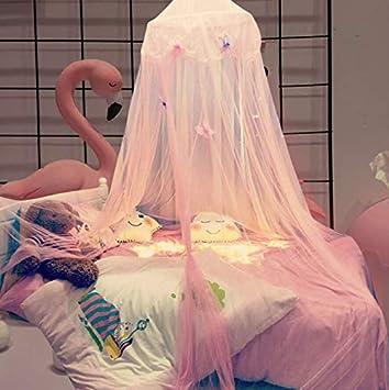 Baldachin Traumhafte Moskitonetz Baldachin Polyester Für Babybett, Mädchen  Schlafzimmer Kinder Prinzessin Spielzelte, Kinderzimmer Dekoration