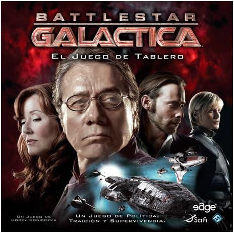 Battlestar Galactica - Juego de Mesa (Edge Entertainment EDGBG01): Amazon.es: Juguetes y juegos