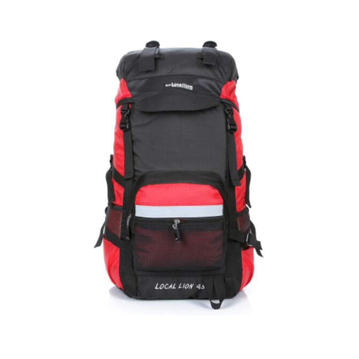 Outdoor Backpack Large Capacity 45L 60L Travel Backpack Outdoor Mountaineering Bag Color : Red, Size : 60L