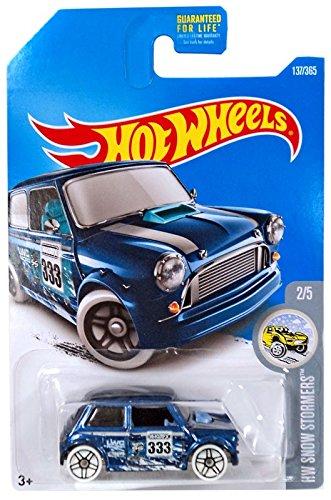 Amazoncom Hot Wheels 2017 Hw Snow Stormers Morris Mini 137365