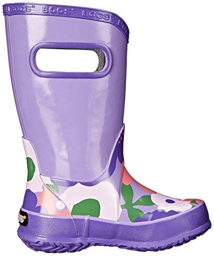 Bogs Girls Violet Multi Flower Lightweight Rain Boot Wellies Wellingtons 71927 -UK 11 (EU 29)