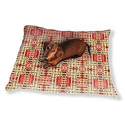 Rough Weave Dog Pillow Luxury Dog / Cat Pet Bed