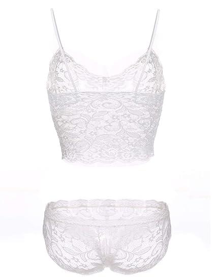 90792024716 ANAJOLI Plus Size 5XL Women Sexy Corset Hollow Lace See-Through Push Up  Cami Bra