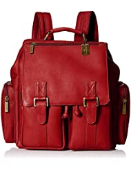 Claire Chase Tablet Laptop Backpack, Red, One Size