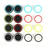 Silicone Thumb Grips Thumb Stick Caps Thumbstick Covers For PS4 / PS3 / Xbox One / Xbox 360 / Wii U Controllers 8 Pairs/16-Pack RELIAN For Sale