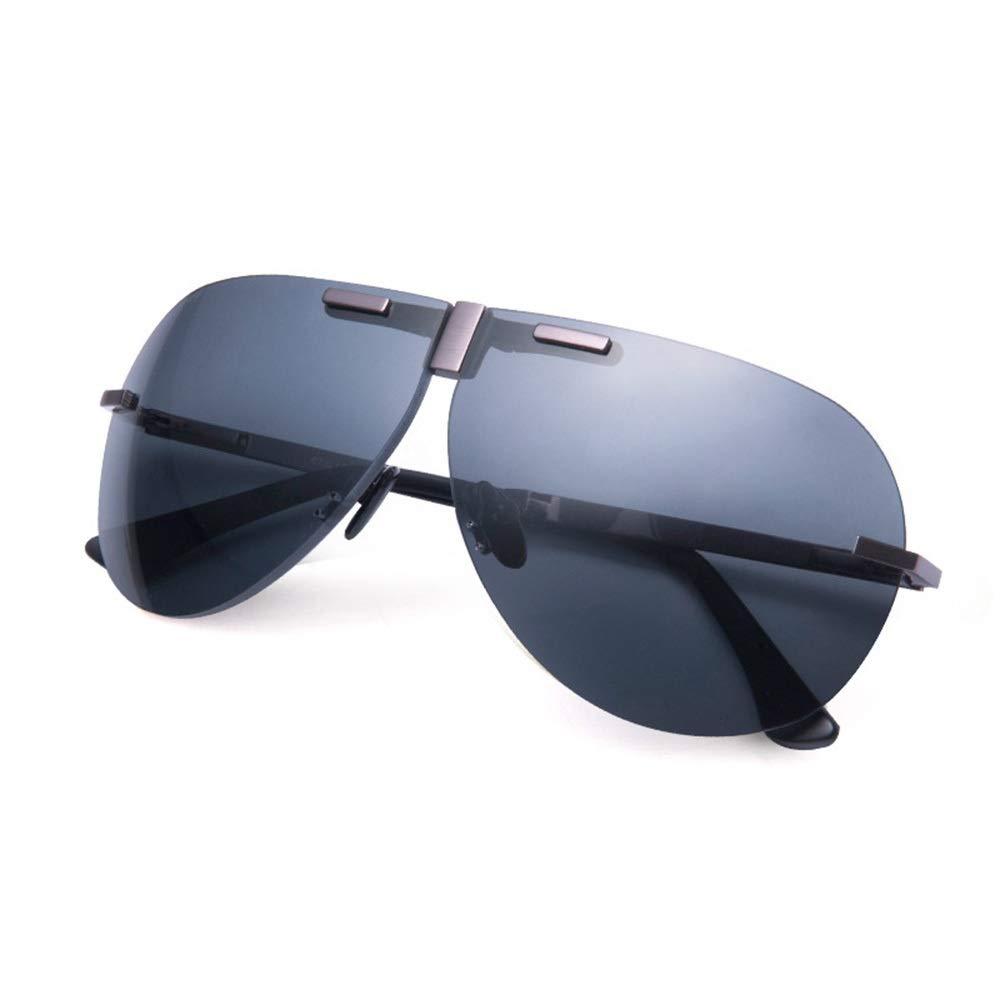 スポーツサングラス 超軽量 チタン合金の高精細偏光メガネは、交通安全を向上させますUVAとUVBの保護目の疲れと頭痛ユニセックススタイル ユニセックス (色 : マルチカラー, サイズ : Free) Free マルチカラー B07Q39DYSR