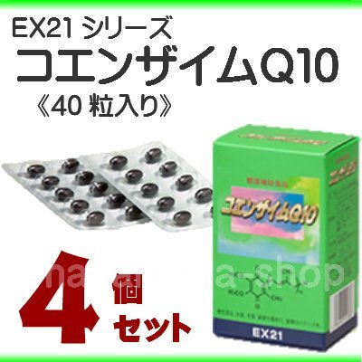 EX21シリーズ コエンザイムQ10 4個セット B01FCVRZAY