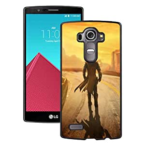 Newest LG G4 Case ,fallout new vegas wasteland loner road hero Black LG G4 Cover Case Fashionable And Popular Designed Case Good Quality Phone Case
