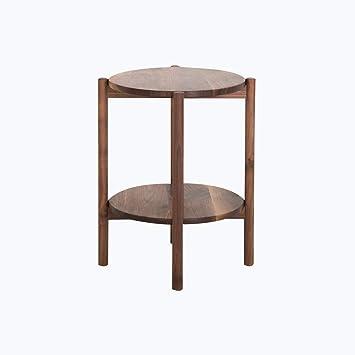 Tavolini Salotto Strani.Tavolino In Legno Massello Tavolino Moderno Rotondo Da