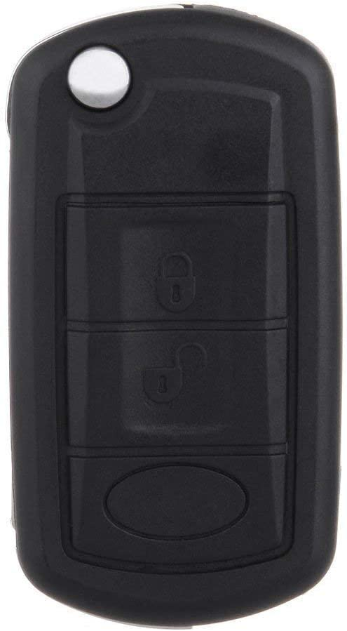 ECCPP Replacement fit for Uncut 433MHz Keyless Entry Remote Key Fob Sport/ LR3 (Pack of 1)