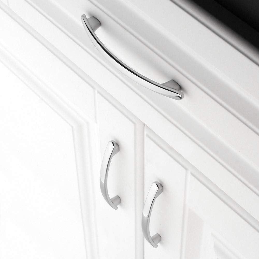 Tirador redondo para armario de cocina dormitorio y muebles de ba/ño Koofizo 1905