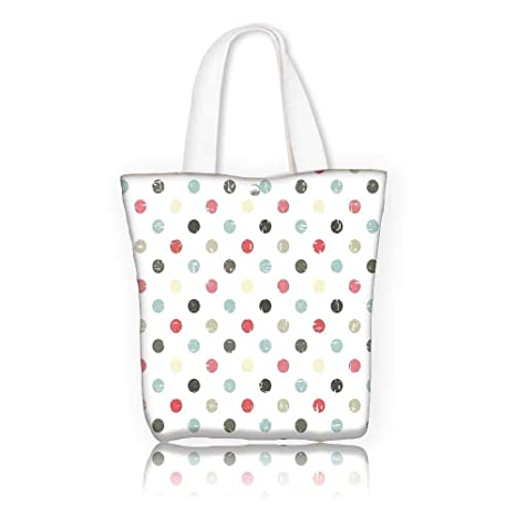 733ef3a9f Amazon.com: Canvas Tote Bags -W15 x H14 x D4.7 INCH/Shopping Travel ...