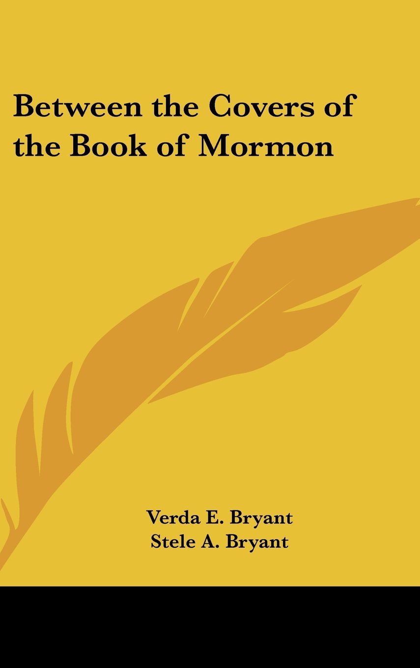 Between the Covers of the Book of Mormon pdf