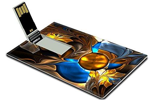 Luxlady 32GB USB Flash Drive 2.0 Memory Stick Credit Card...