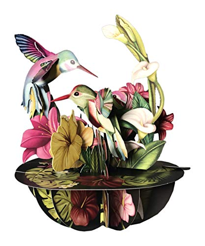 Santoro Pirouettes PS047 Hummingbirds 3D Pop up ()
