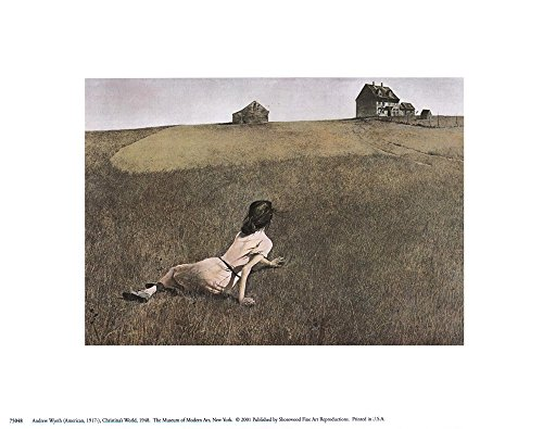 Christina's World, c.1948 by Andrew Wyeth Art Print, 10 x 8 inches - Wyeth Contemporary Print
