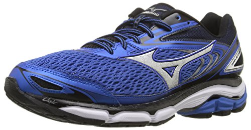 13 Mizuno Men Shoe Blue Running Inspire Strong Silver Wave wftqrSf