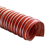 """Mishimoto MMHOSE-D2 Heat Resistant Silicone Ducting, 2"""" x 12'"""