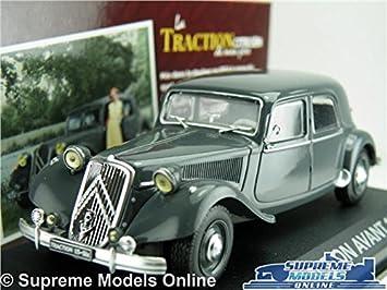 CITROEN TRACTION 15-SIX 1:43 ATLAS DIECAST MODEL CAR V2