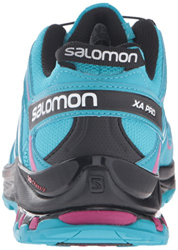 Salomon Mujeres Xa Pro 3d W Trail-runners Blue Jay / Black / Deep Dahlia